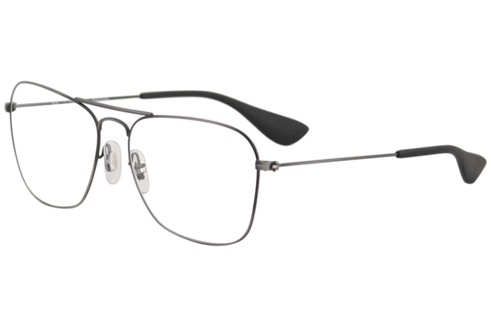 b943d5784f02 Ray Ban Eyeglasses RB3610V RX 3610 V 3032 Matte Black Antique ...