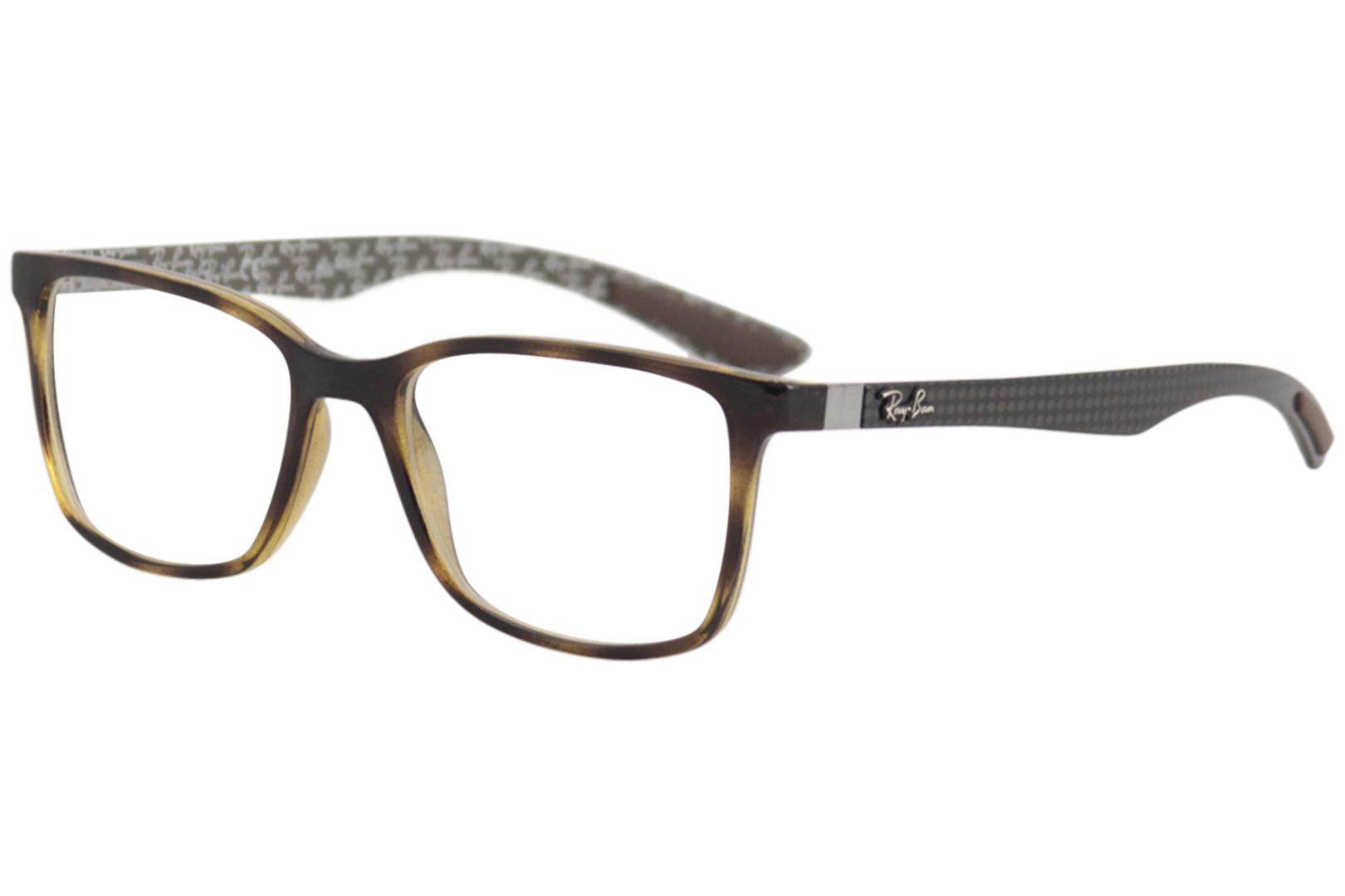 16b1ea12cc Ray Ban Men s Eyeglasses RB8905 RX 8905 5846 Havana Full Rim Optical ...