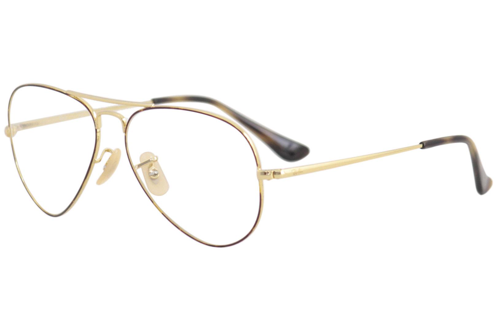 3dbf13809f Ray Ban Eyeglasses RB6489 RX 6489 2945 Havana Gold RayBan Optical ...