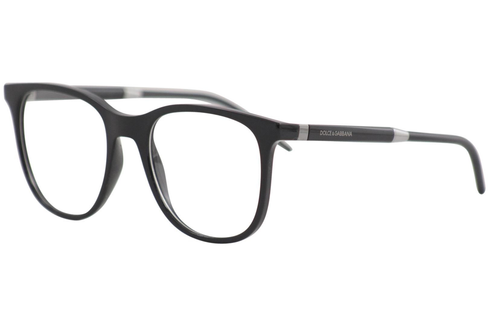 ef42e399a3f Dolce   Gabbana Men s Eyeglasses D G DG5037 DG 5037 501 Black ...
