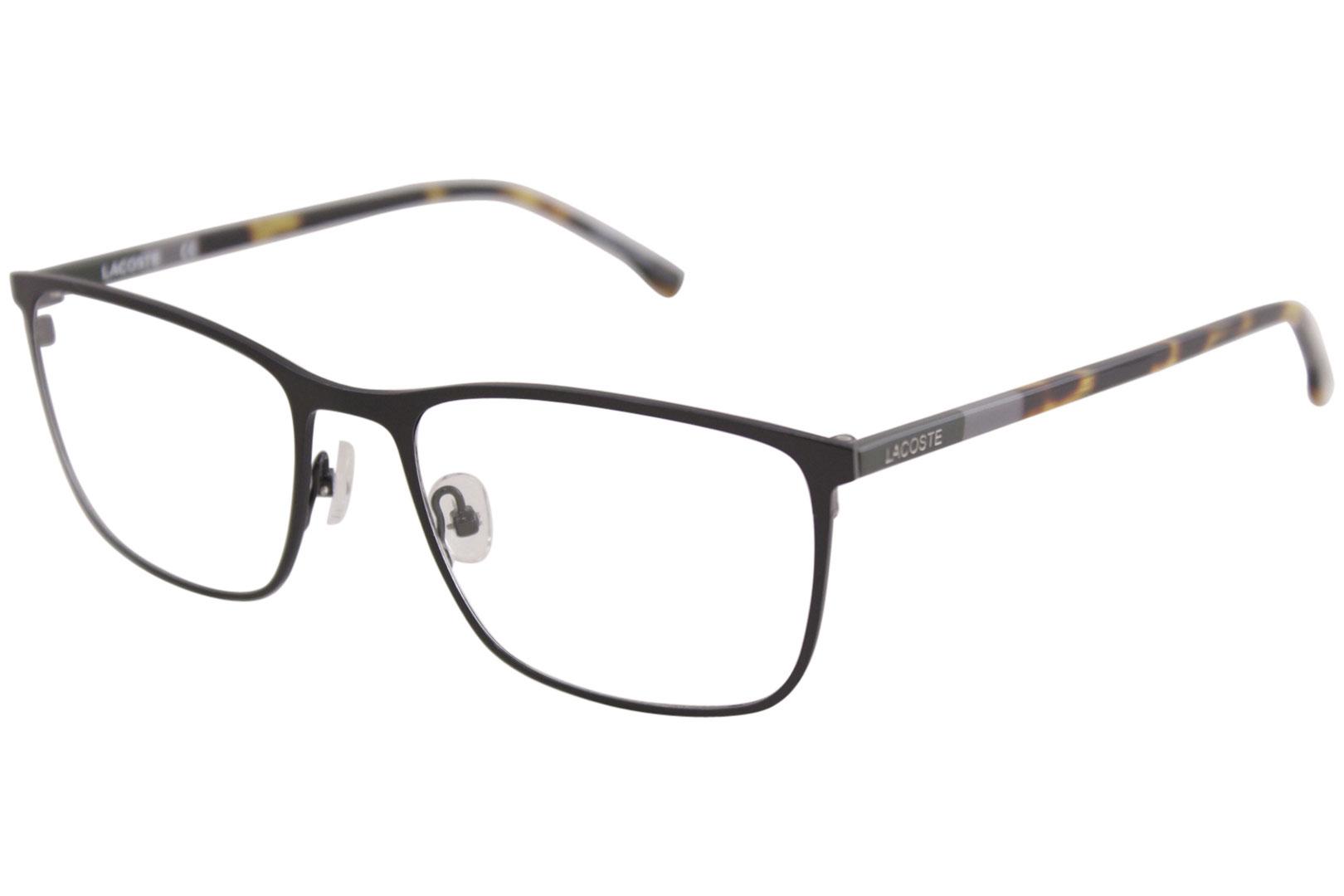 fc58804deb9f Lacoste Men s Eyeglasses L2247 L 2247 001 Black Full Rim Optical ...