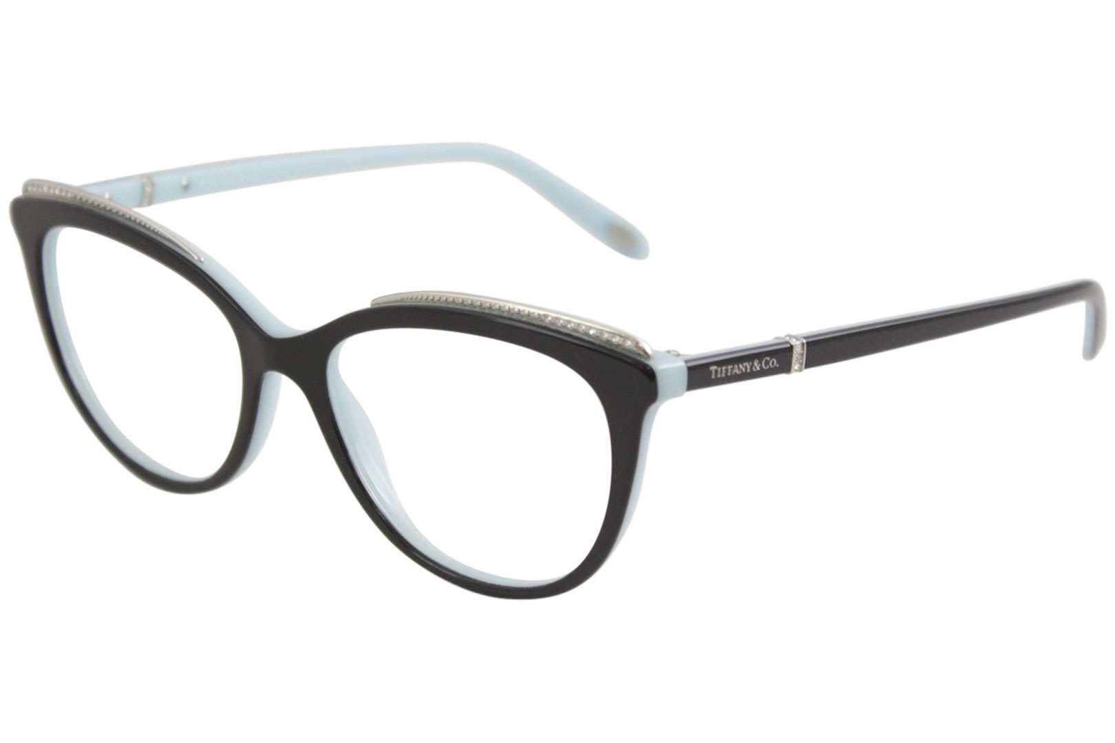79b73e495c3d Tiffany   Co. Eyeglasses TF2147B TF 2147 B 8055 Black Blue Optical ...