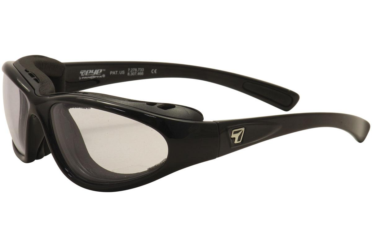 7eye Derby Glossy Black DARKshift Extra Dark Photochromic