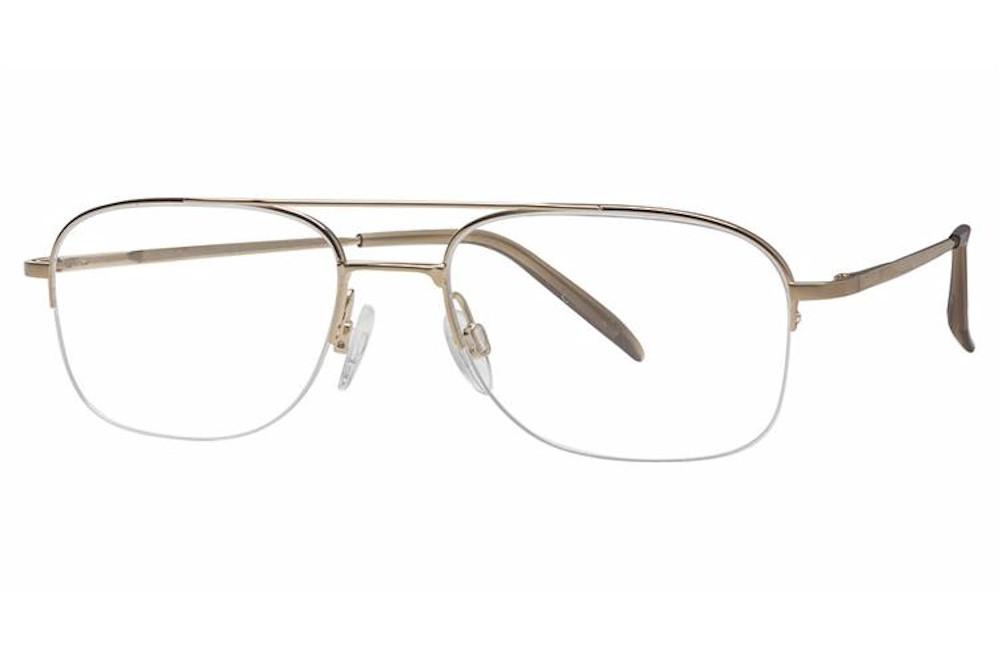 Charmant Men\'s Eyeglasses TI 8145A 8145/A Titanium Half Rim Optical ...