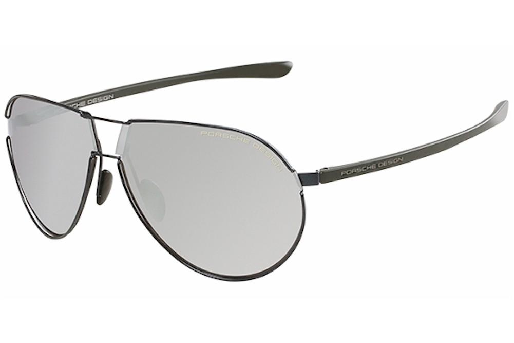 59bccf8e73 Porsche Design Men s P 8617 P8617 B Dark Blue Fashion Sunglasses ...
