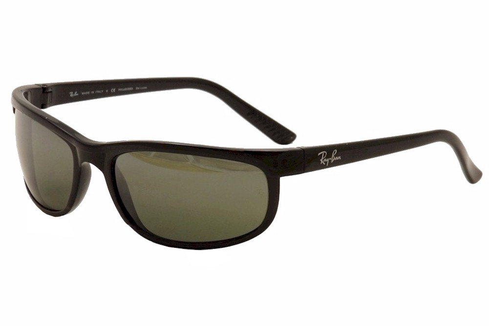4728e5f2f2 Détails sur Ray Ban Men s Predator 2 RB2027 601 W1 Black RayBan Polarized  Sunglasses 62mm