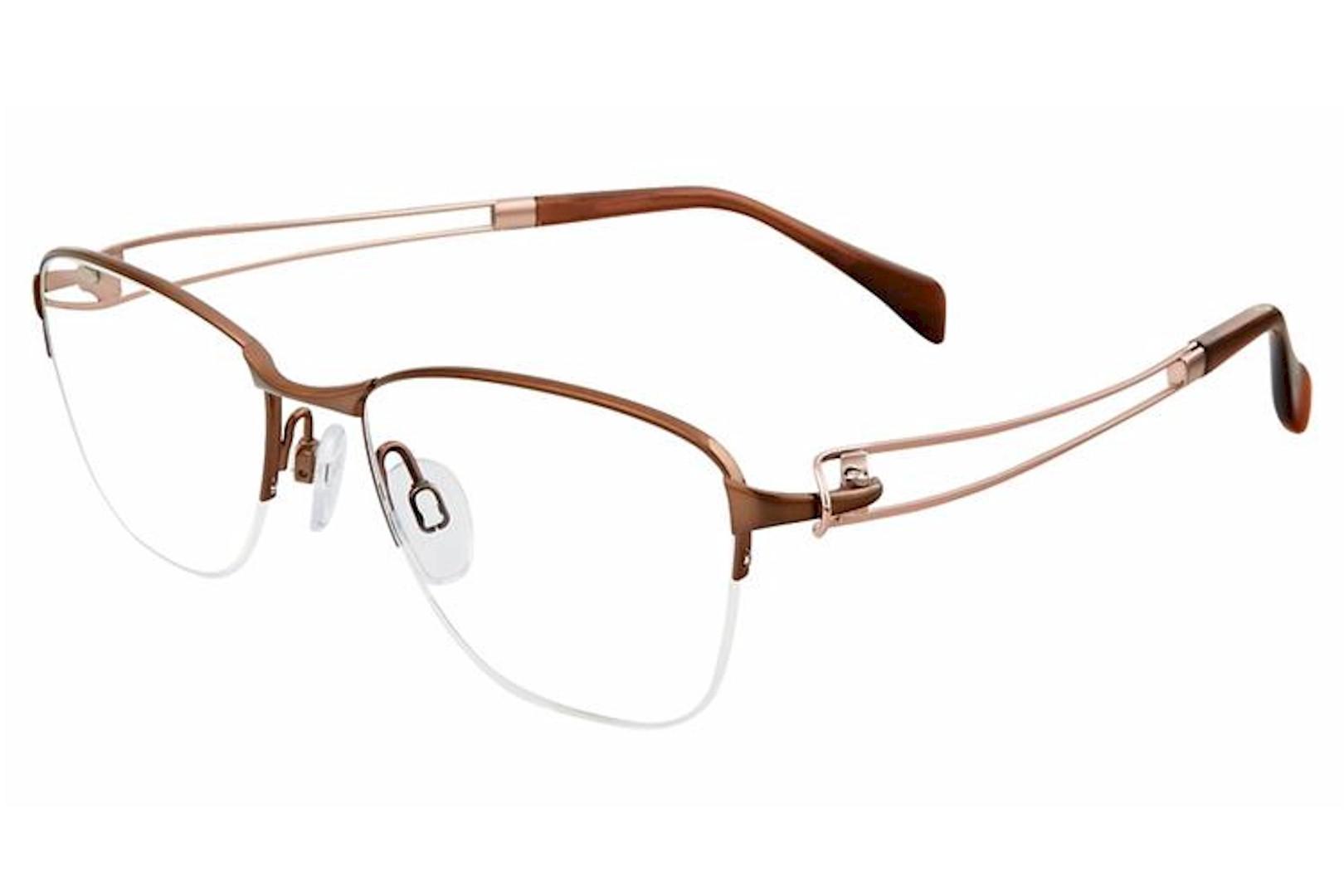 Line Art Xl 2063 Eyeglasses : Charmant line art women s eyeglasses xl half