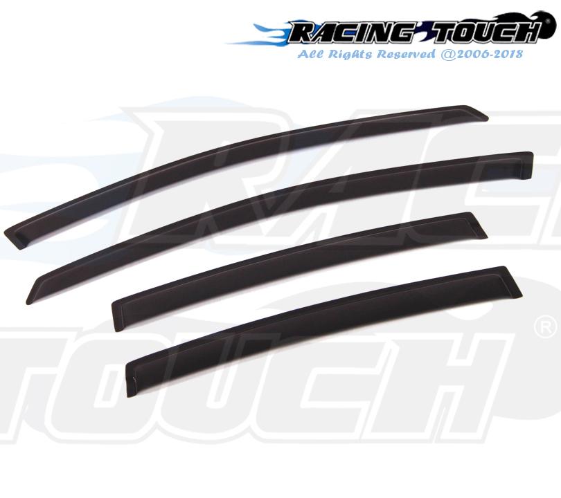 For Nissan Sentra 07-12 Dark Grey Out-Channel Window Visor Sun Guard 4pcs