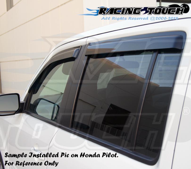 Vent Shade Window Visors 2DR Fit Hyundai Accent 00-05 2000-2003 2004 2005 2pcs