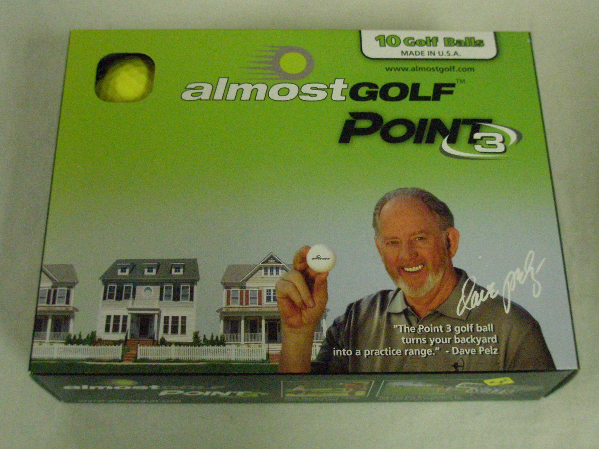 3 golf balls almost - 4 2