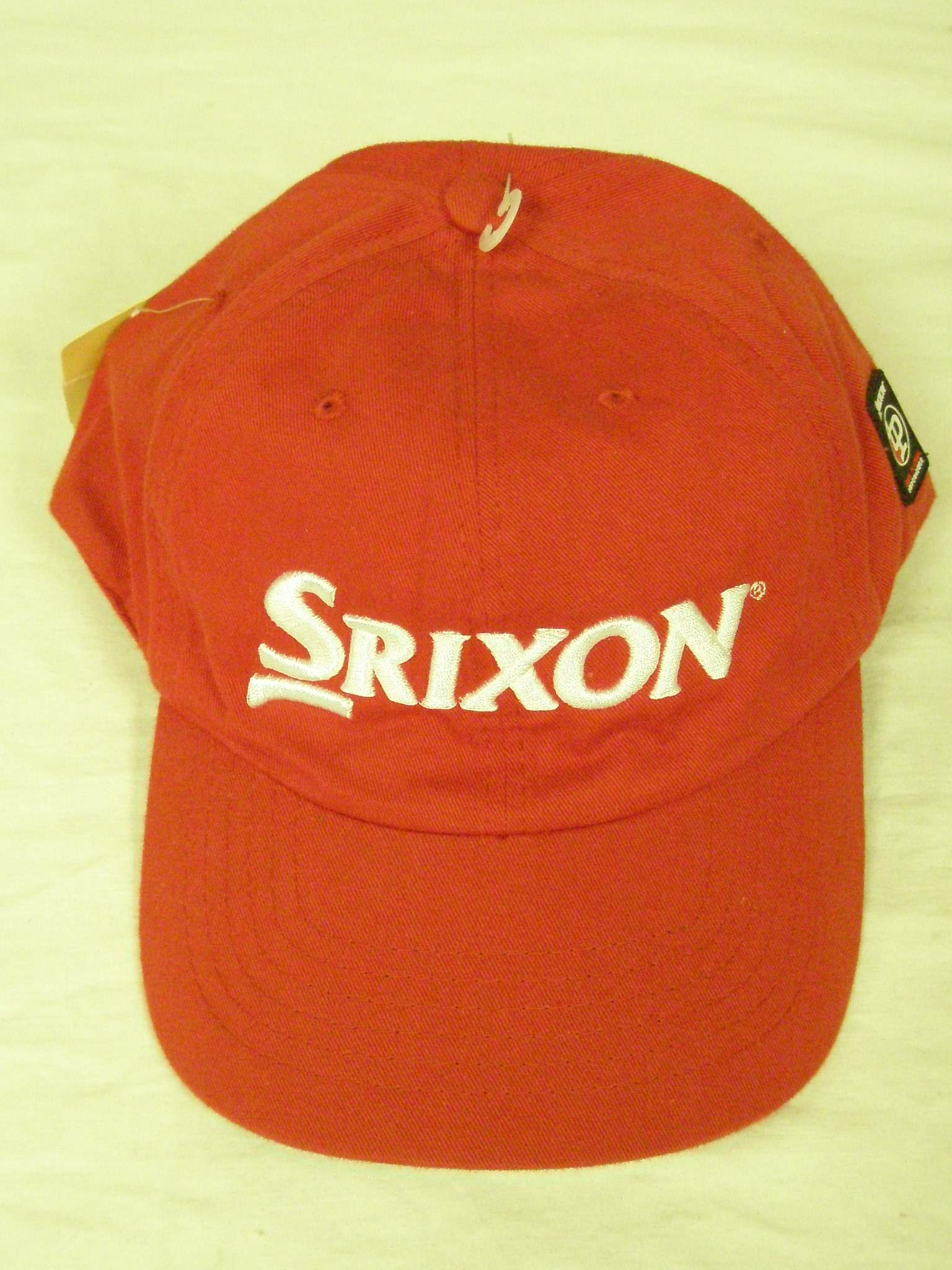 a6801e899af Red Srixon True Players Experience Golf Hat