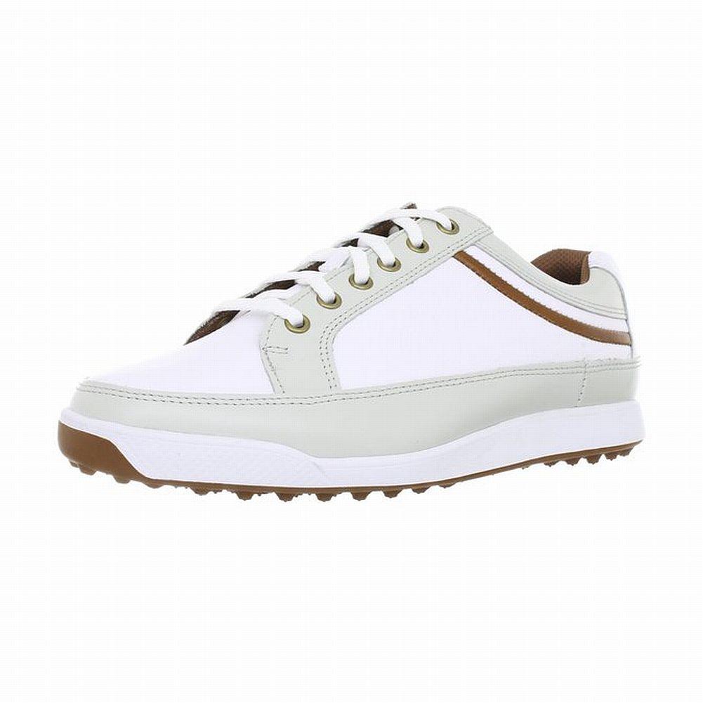 Footjoy Contour Golf Shoes White Taupe