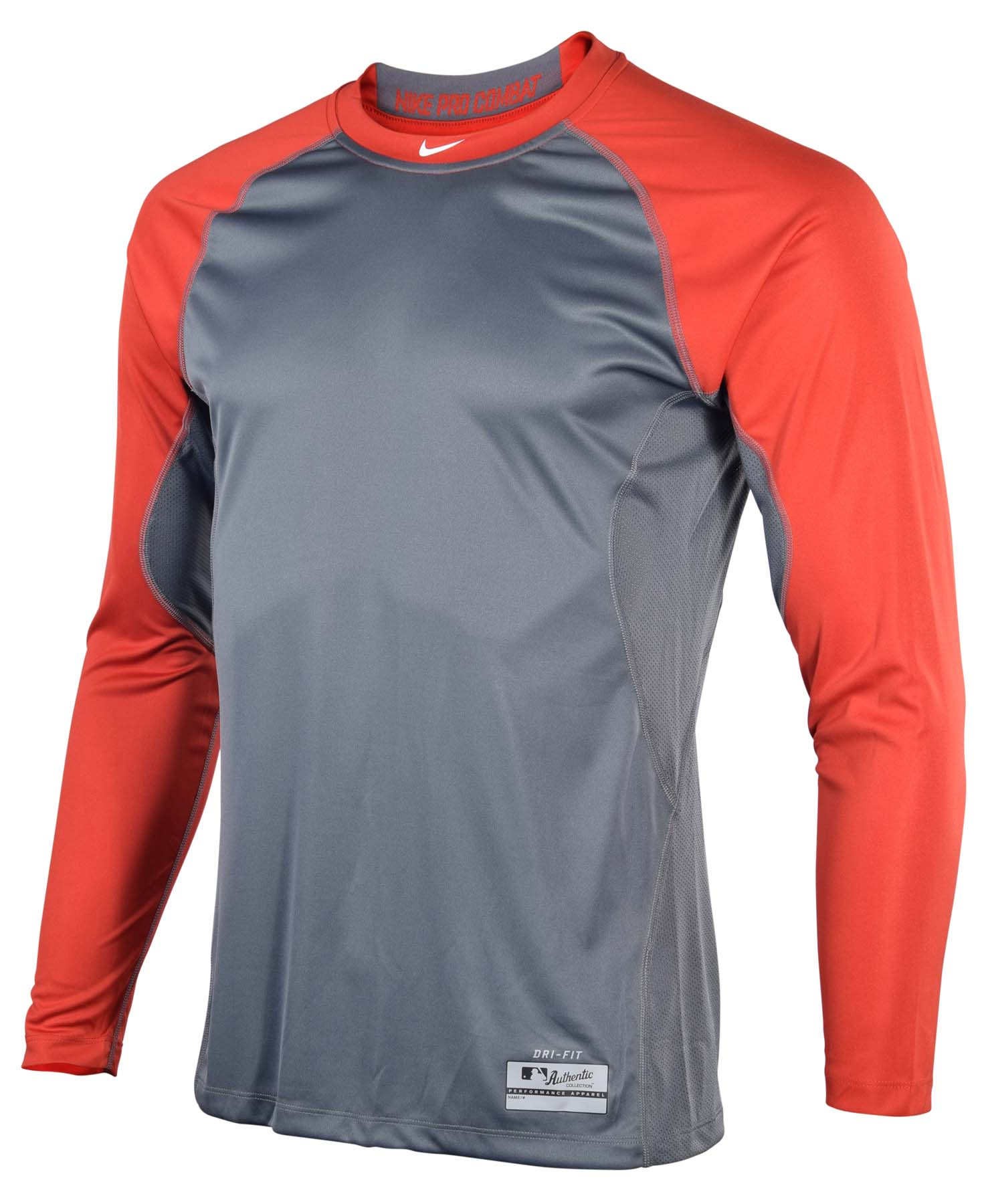 bb6e3eca139 Nike Pro Combat Core Fitted Long Sleeve Shirt