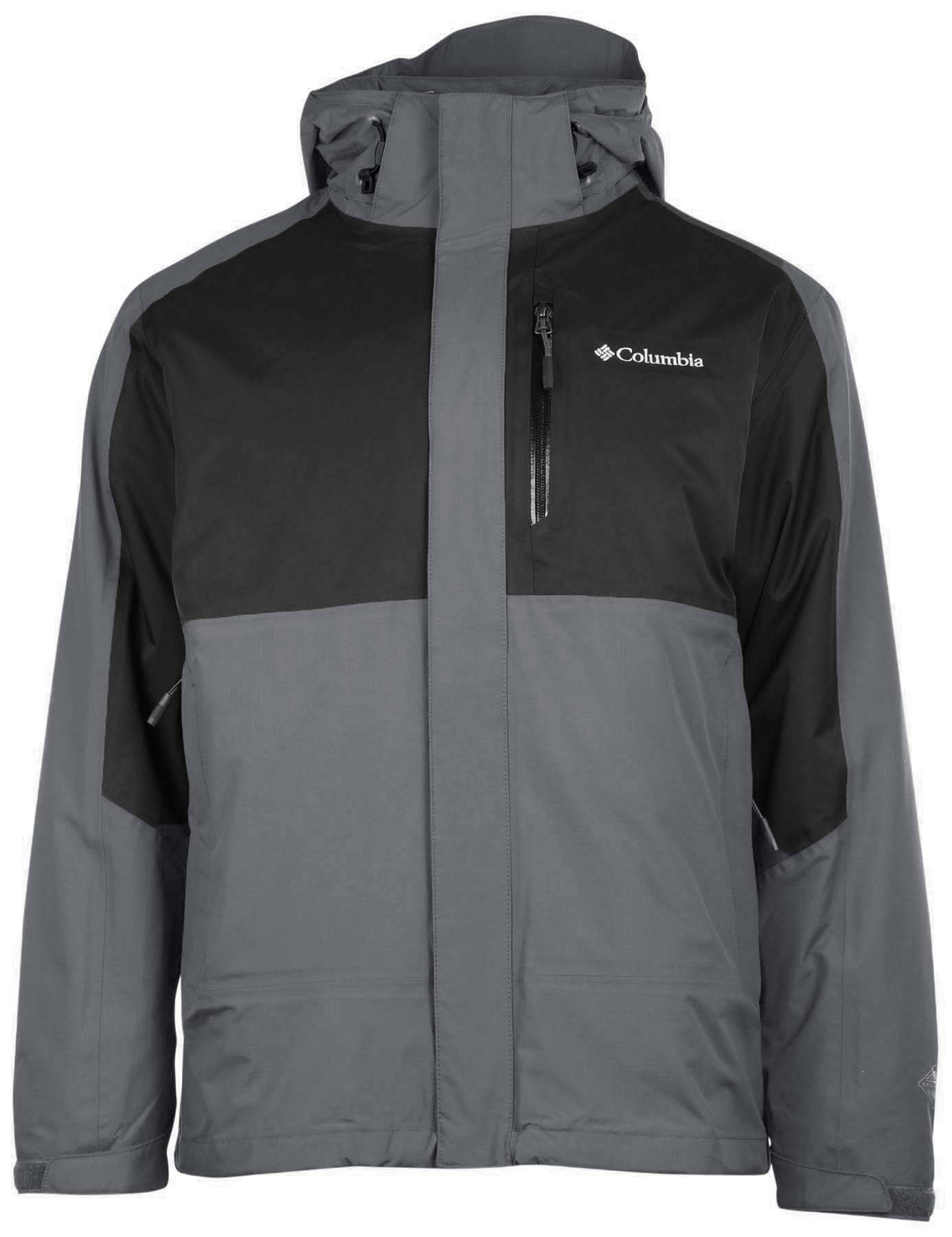 Columbia Men's Rural Mountain 3 in 1 Interchange Omni Heat Jacket ...