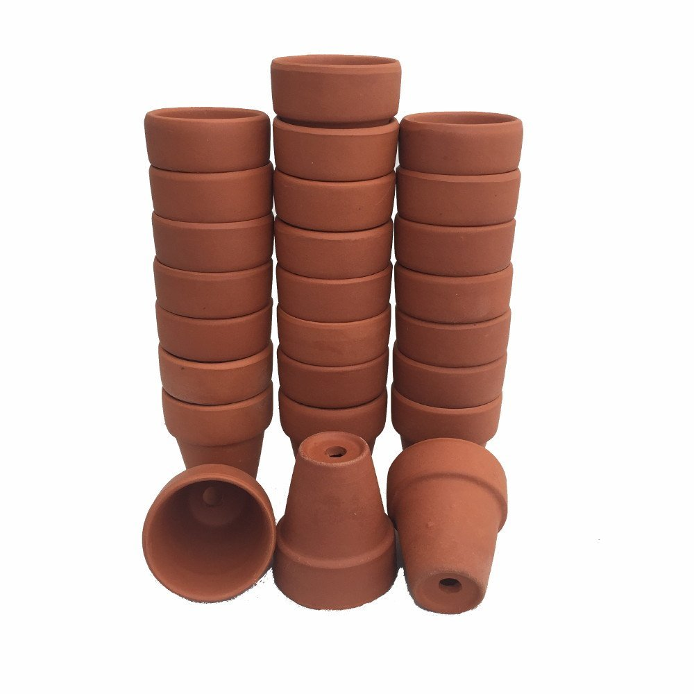 100 2 5 x 2 25 clay pots great for plants and crafts hirts gardens