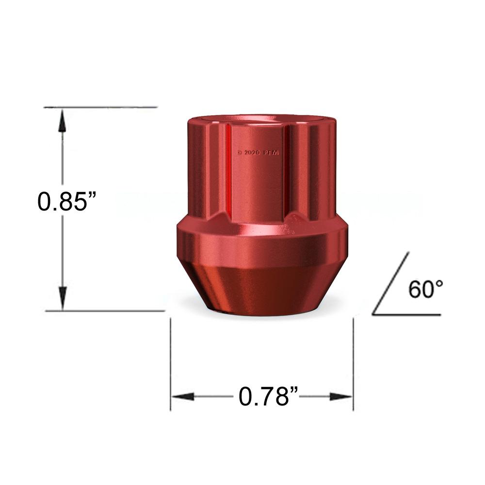 20 Pc 12x1.25 Thread Pitch Blue Spline Tuner Security Lug Nuts 2 Locking Socket Keys Fits Infiniti G35 G37 Q50 Q60 FX35