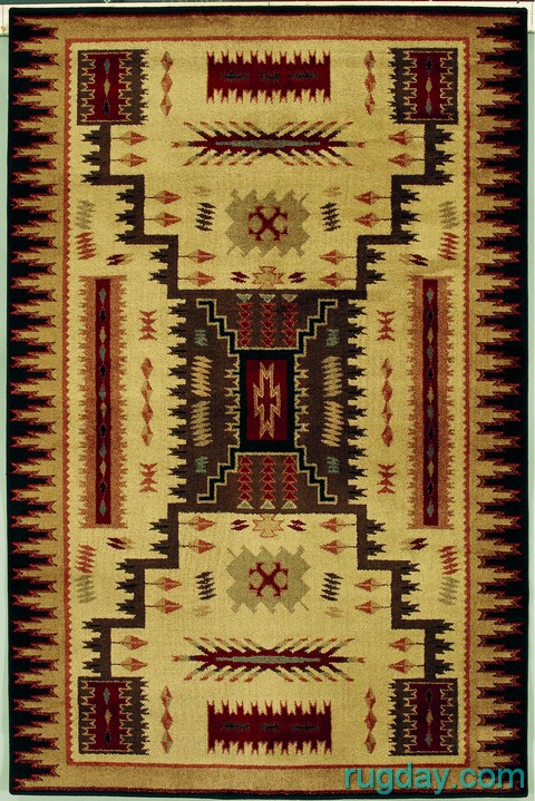 Southwestern Lodge Navajo Indian Design 4x6 Area Rug Ebay