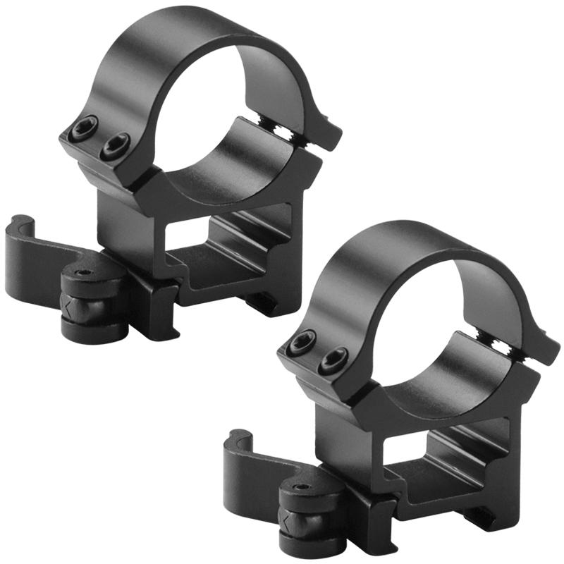 Barska 30mm High Quick Release Weaver Style Ring Ai12242