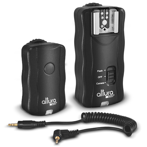Altura Photo Wireless Flash Trigger for CANON w/ Remote Shutter (Canon EOS  80D, 77D, 70D, 60D, SL1, Rebel T7i, T6i, T6, T5i, T5, T4i, T3i, T3, SL2