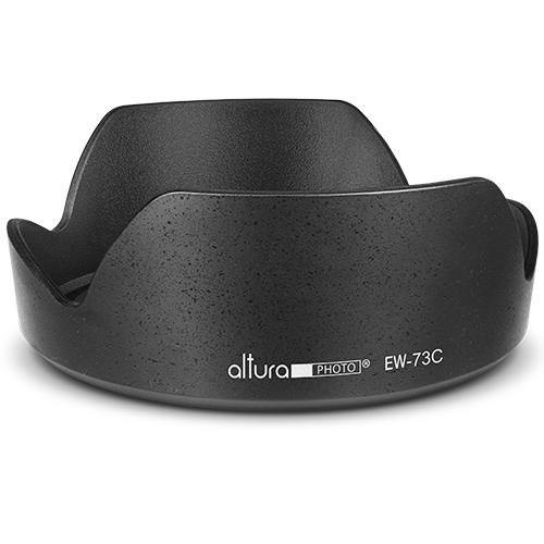EW-73C Lens Hood Shade for Canon EF-S 10-18mm F4.5-5.6 Lens Durable