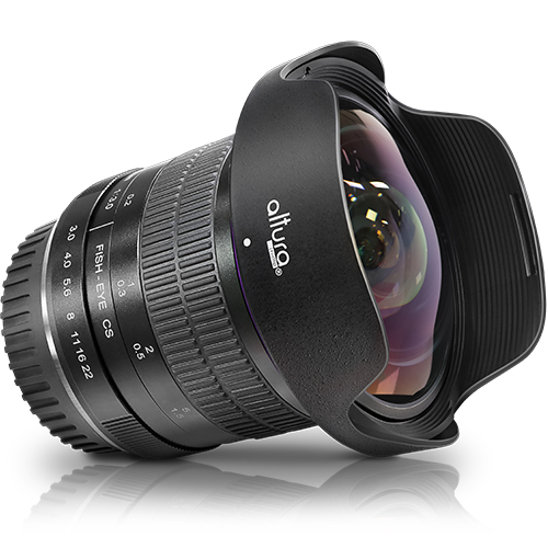 Altura Photo 8mm f/3.0 Professional Ultra Wide Angle Fisheye Lens for Canon