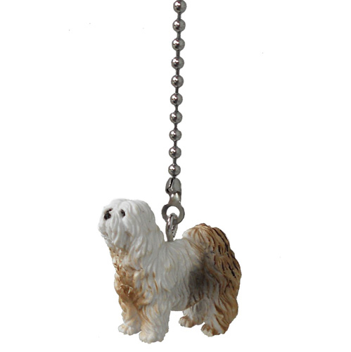 Puppy Dog Vinyl Ceiling Fan Pull Light Chain Extender Pet