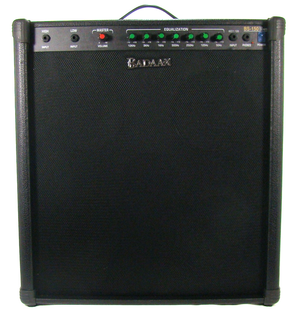 badaax b150 bass guitar combo amp ebay. Black Bedroom Furniture Sets. Home Design Ideas