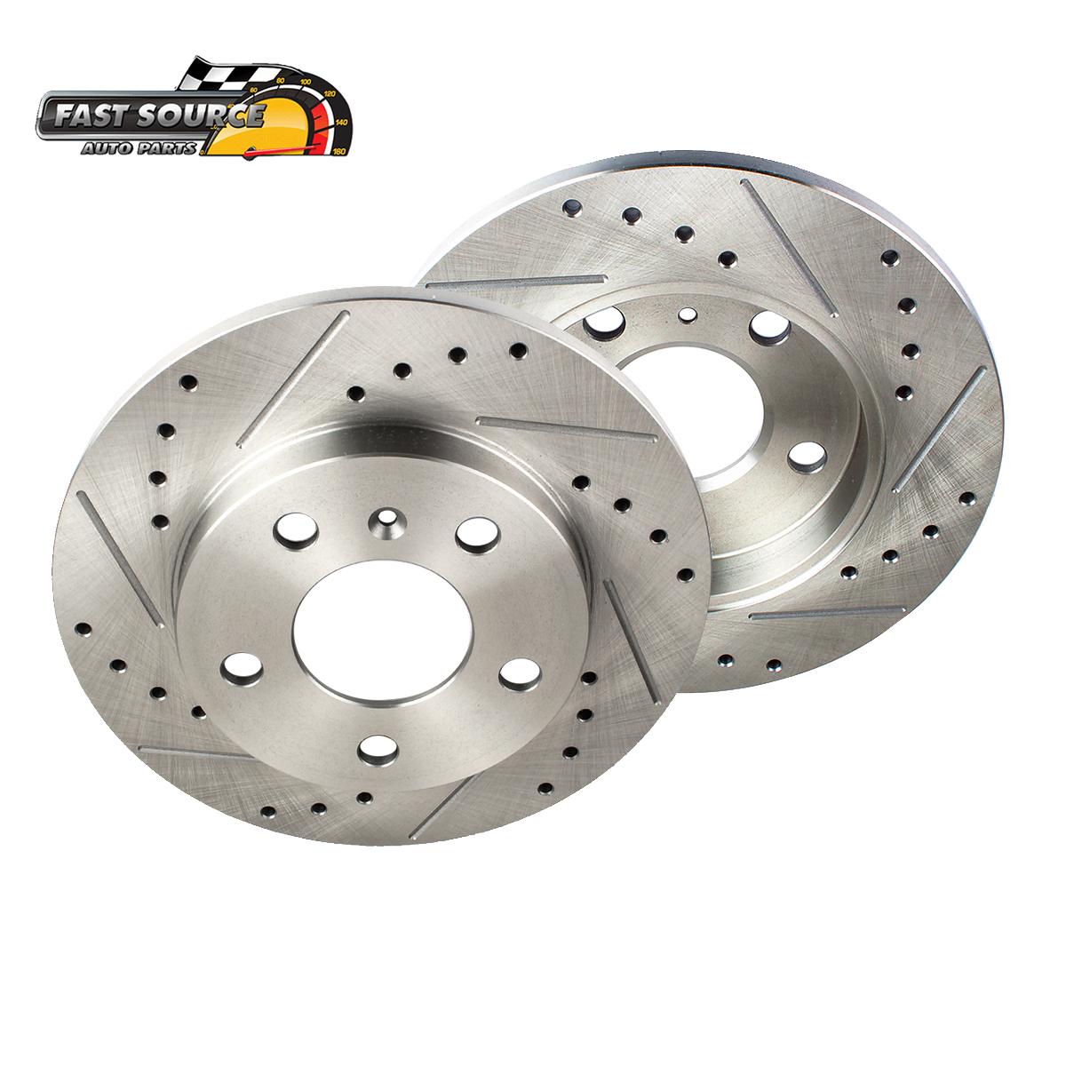 12 13 14 15 16 Honda CR-V OE Replacement Rotors w//Ceramic Pads F+R