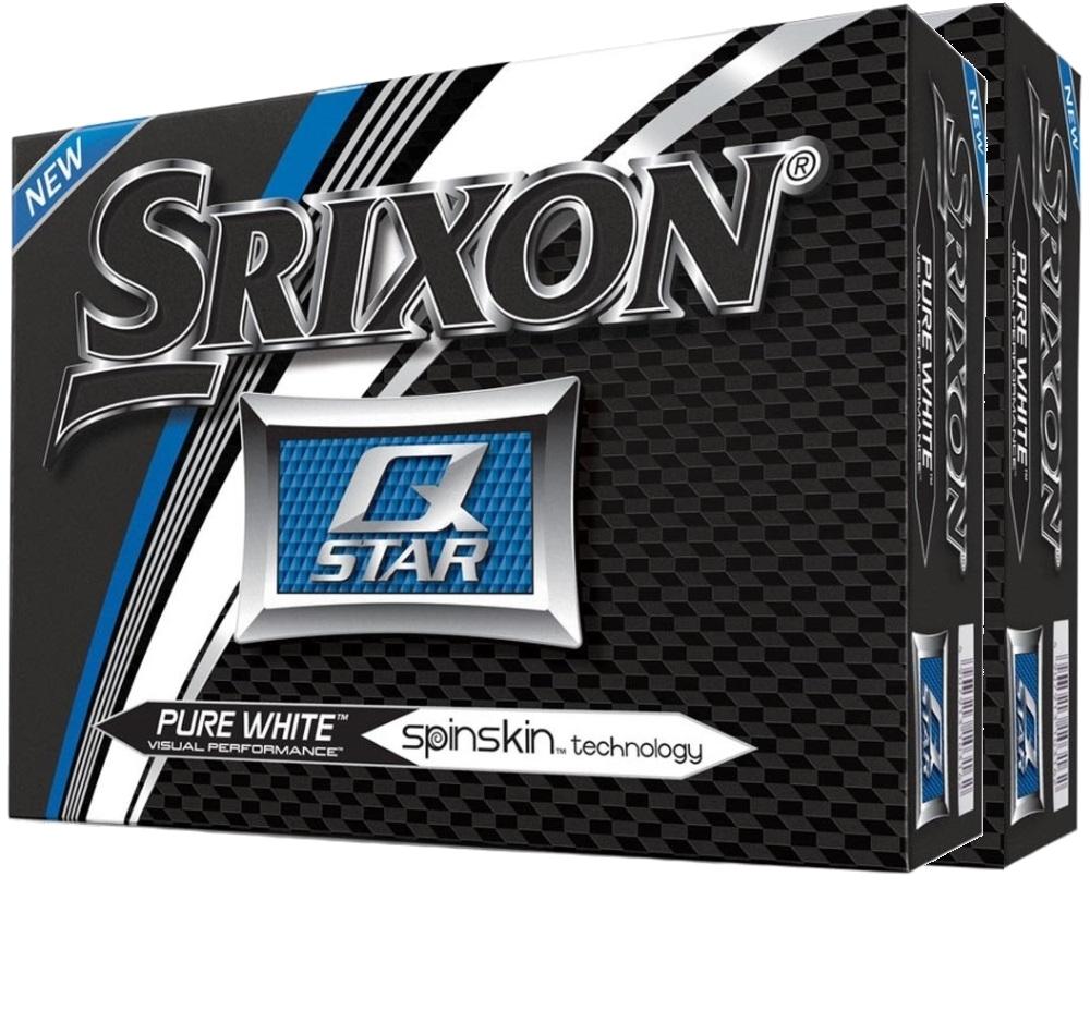 Srixon Q Star 4 Pure White Golf Balls - Double Dozen Offer thumbnail