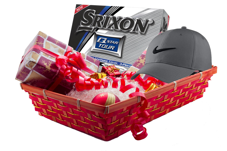 Holiday Gift Bundle - Round of Golf, Dozen Balls, Hat thumbnail