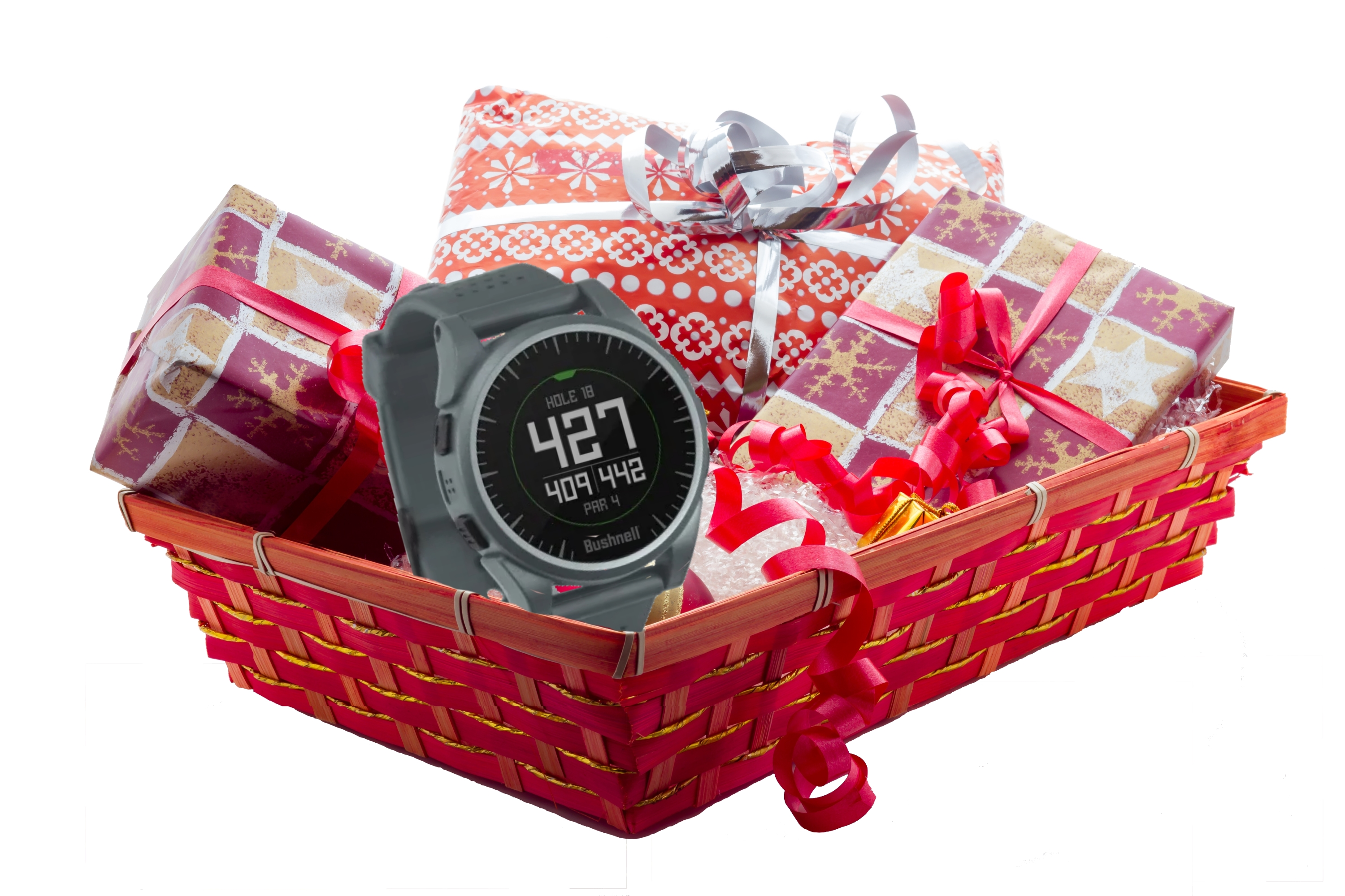 Holiday Gift Bundle - Two Rounds of Golf, Bushnell GPS Watch thumbnail