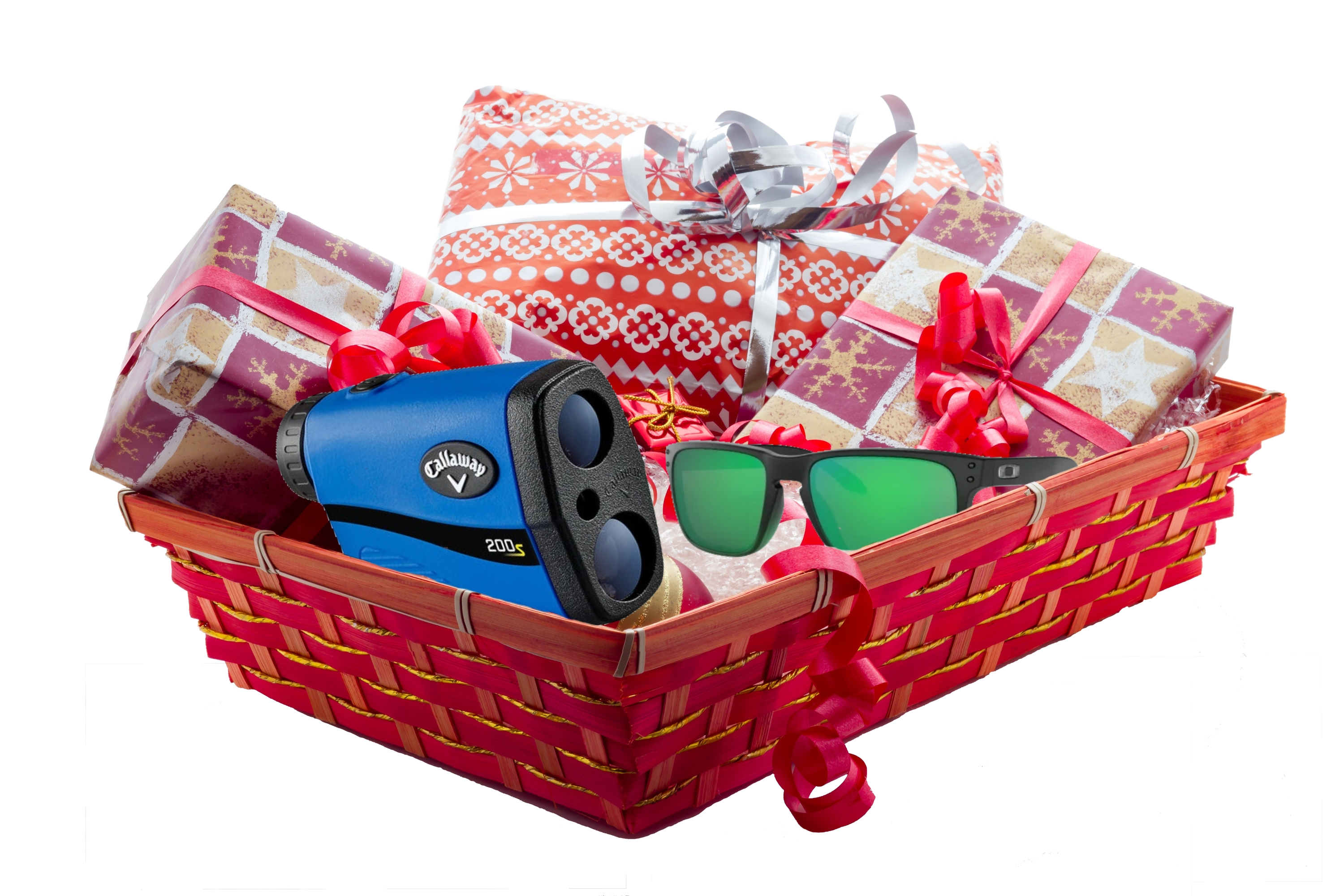 Holiday Gift Bundle - Four Rounds of Golf, Oakley Sunglasses, Callaway Laser Rangefinder thumbnail