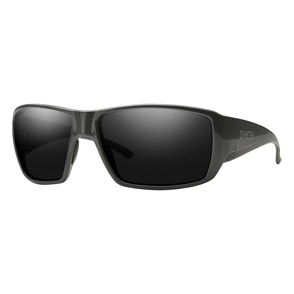 f0907f5f97edd Details about Smith Optics Guides Choice Charcoal Chromapop Polarized Black