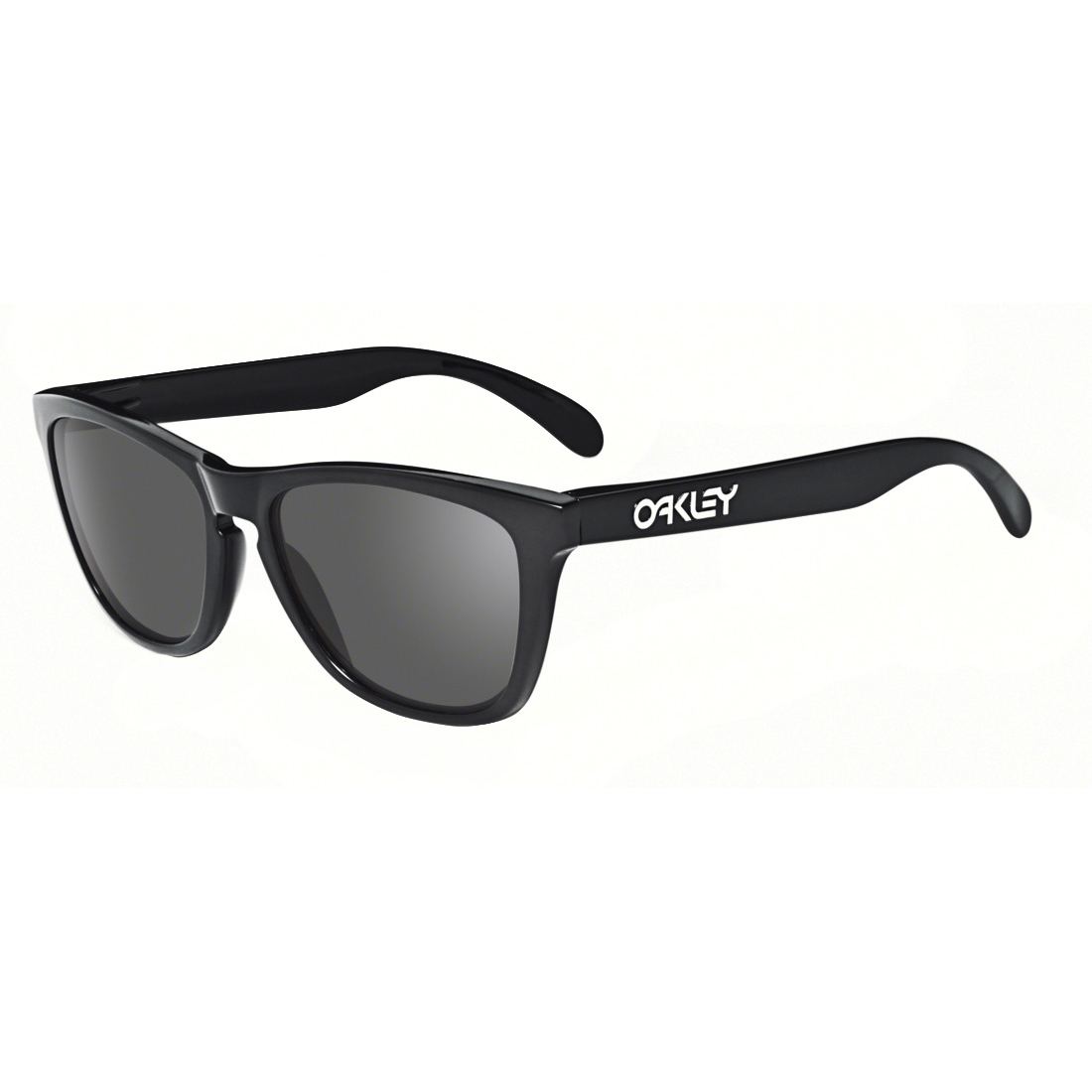 Oakley Frogskins Polished Black With Grey