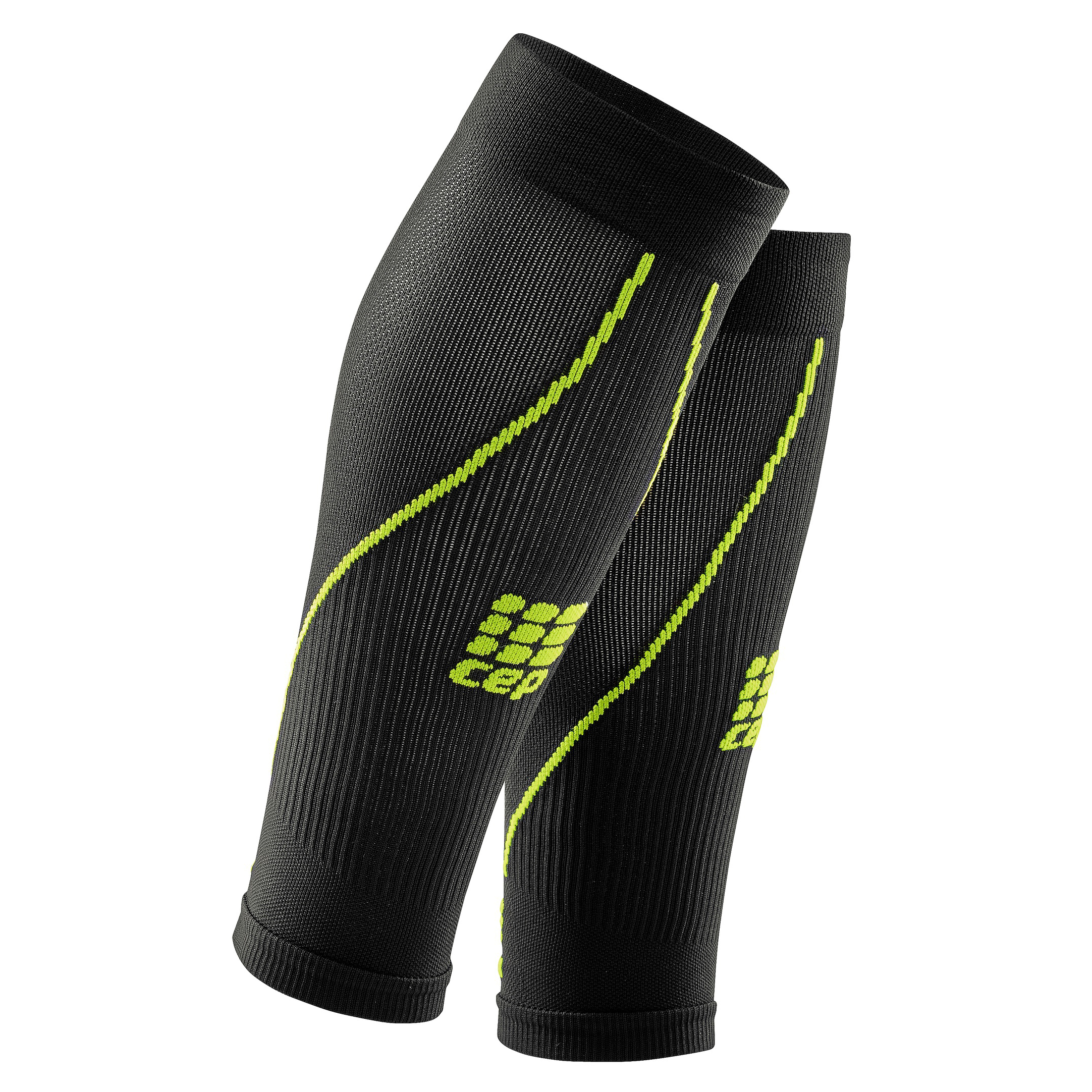 8888533f06 Details about CEP Men's Progressive+ Calf Sleeves 2.0 Black-Green Size III