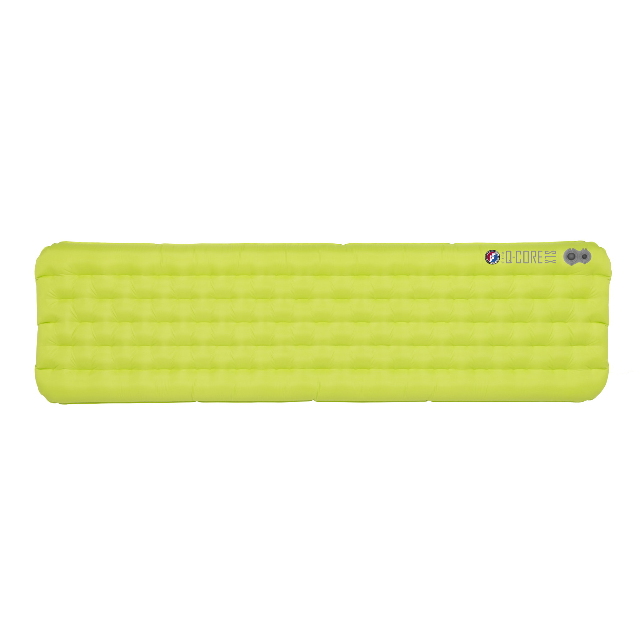Big Agnes Q Core SLX Sleeping Pad Lime Green