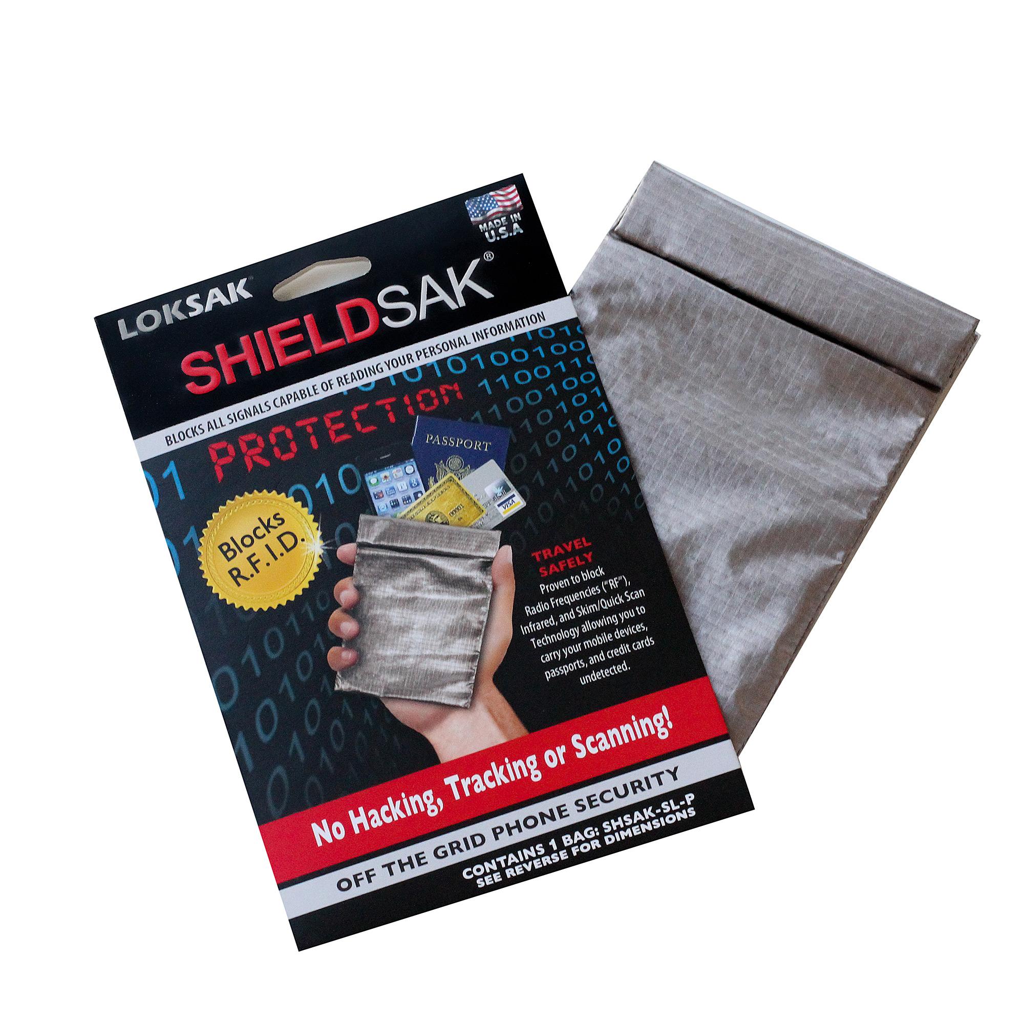 "LokSak  ShieldSak RF Pouch Scanning Protection For Tablets 9.5/""x12/"""
