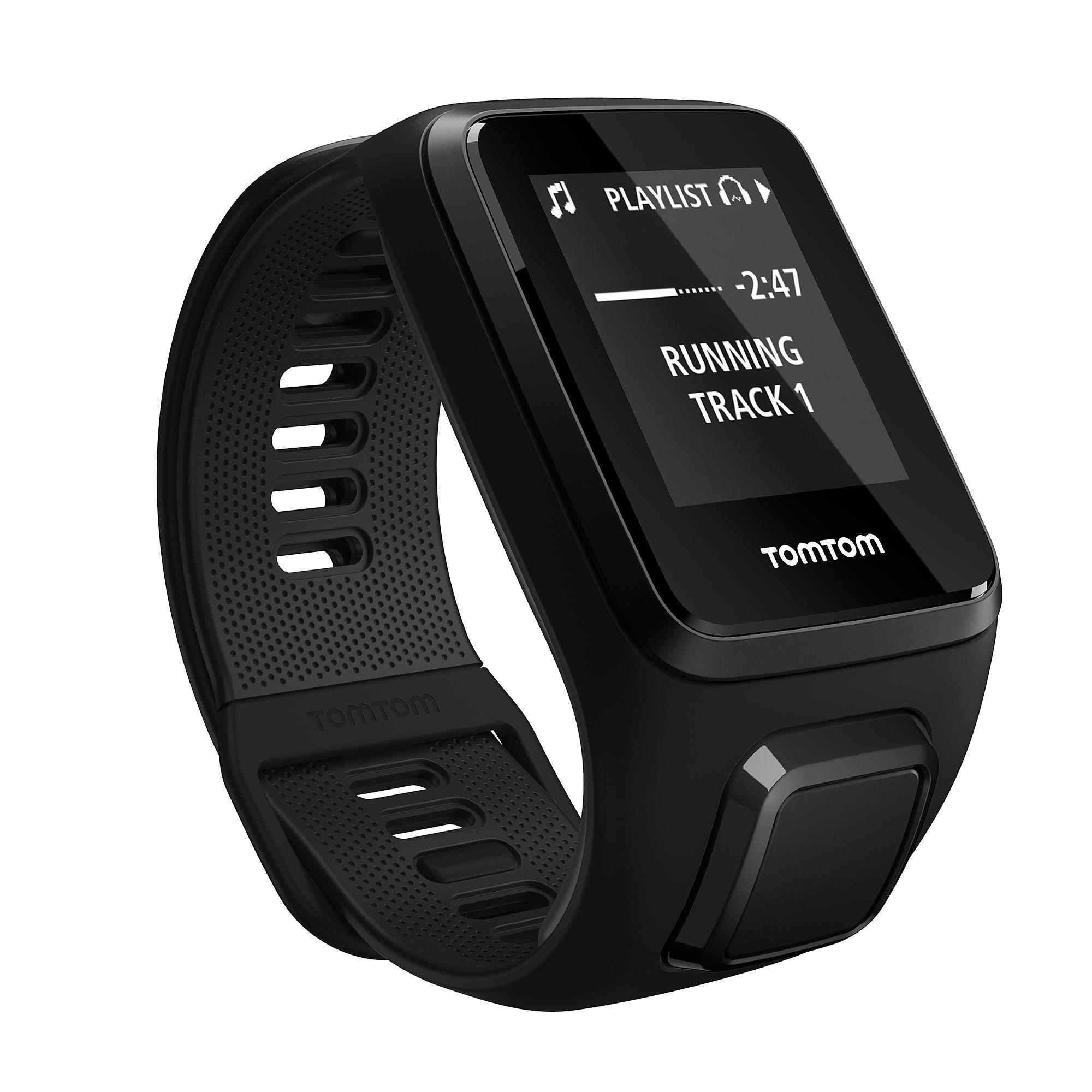 TomTom Spark 3 Music GPS Fitness Watch Headphone Bundle