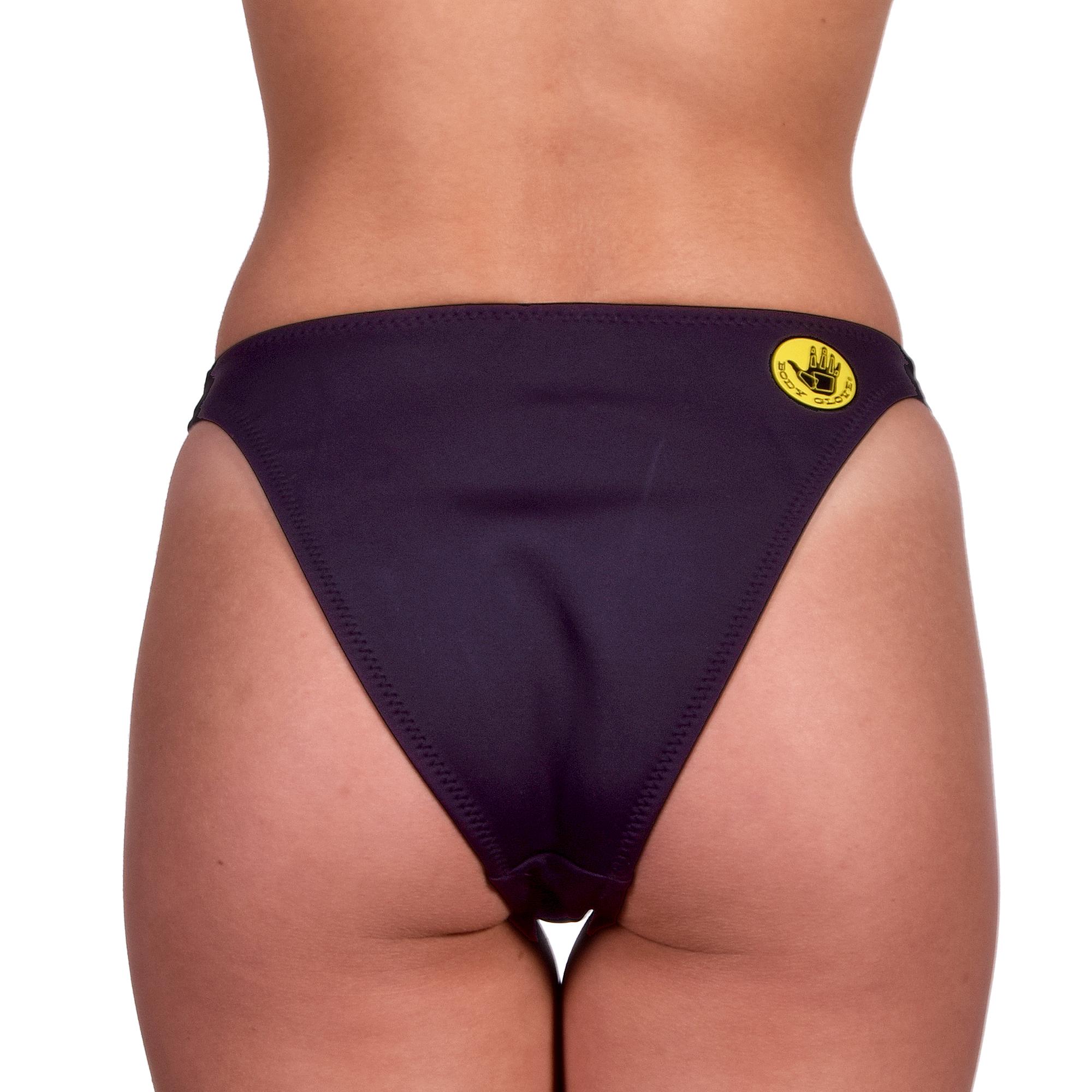Body-Glove-Women-039-s-Straight-Up-Bikini-Bottom-Black thumbnail 4