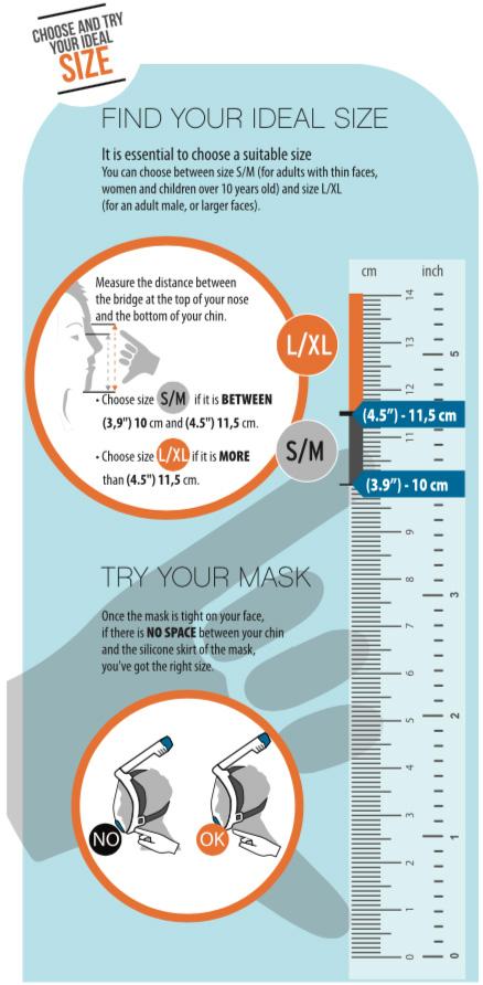 Ocean Reef Uno Full Face Snorkeling Mask
