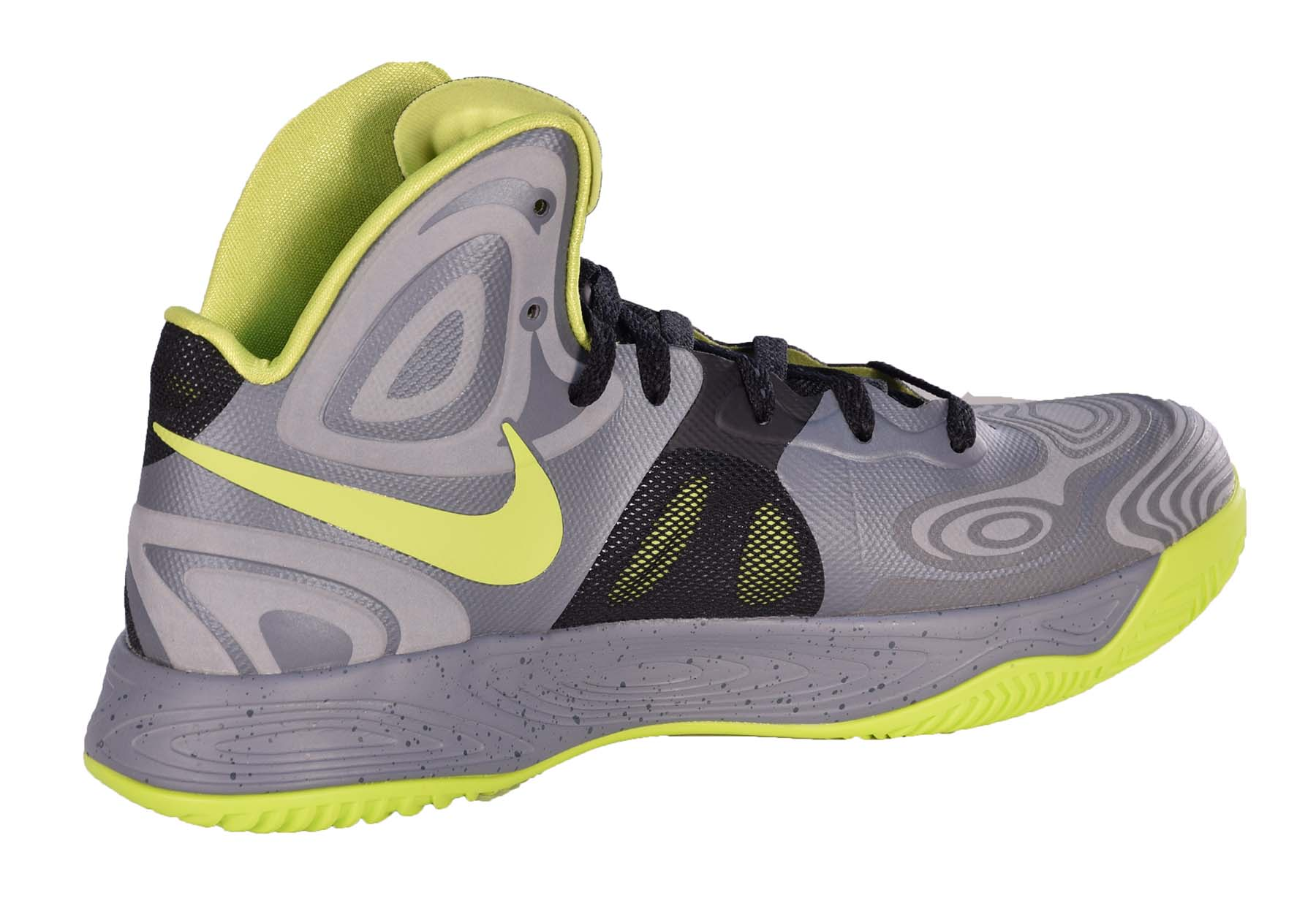 Cool Nike Basketball: Nike Men's Hyperfuse Supreme Basketball Shoes-Cool Grey