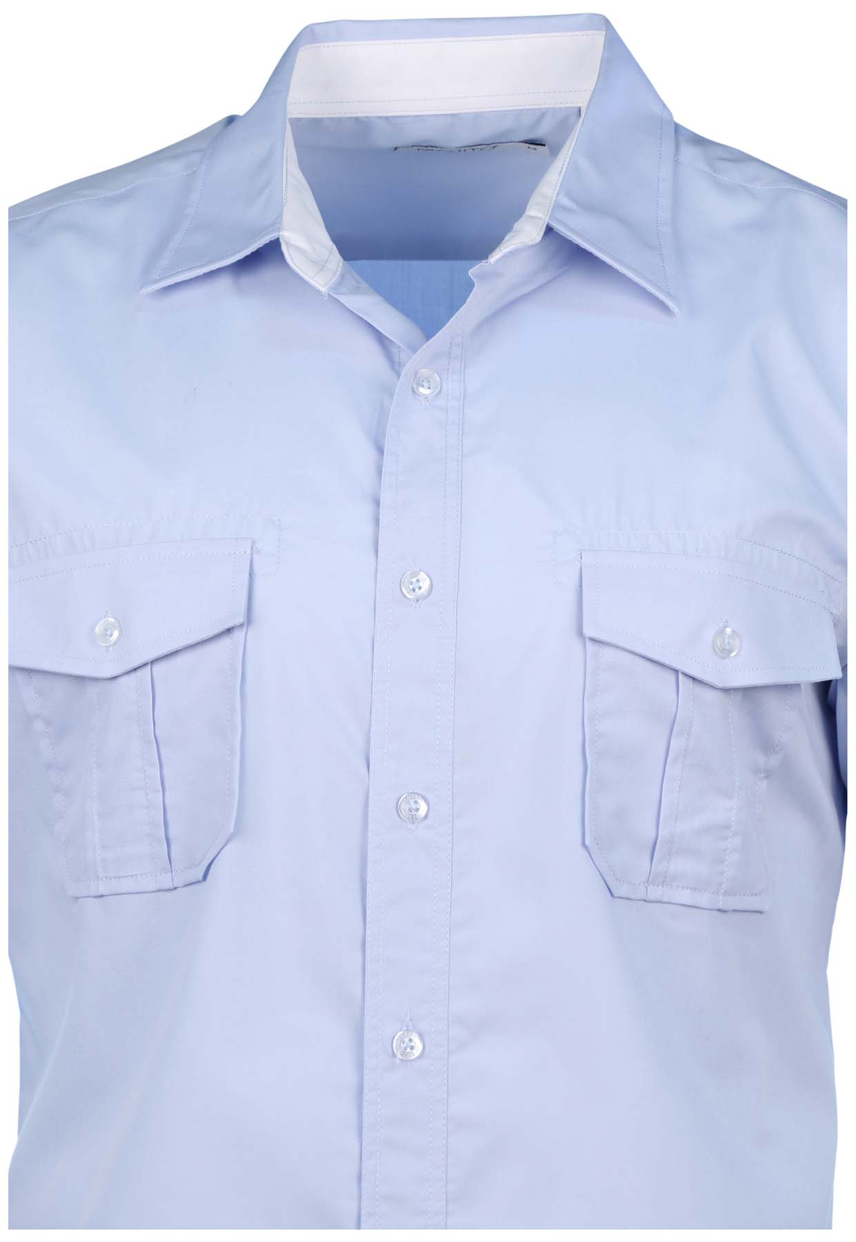 Mojito collection men 39 s 2 pocket short sleeve button down for Mens double pocket short sleeve shirts