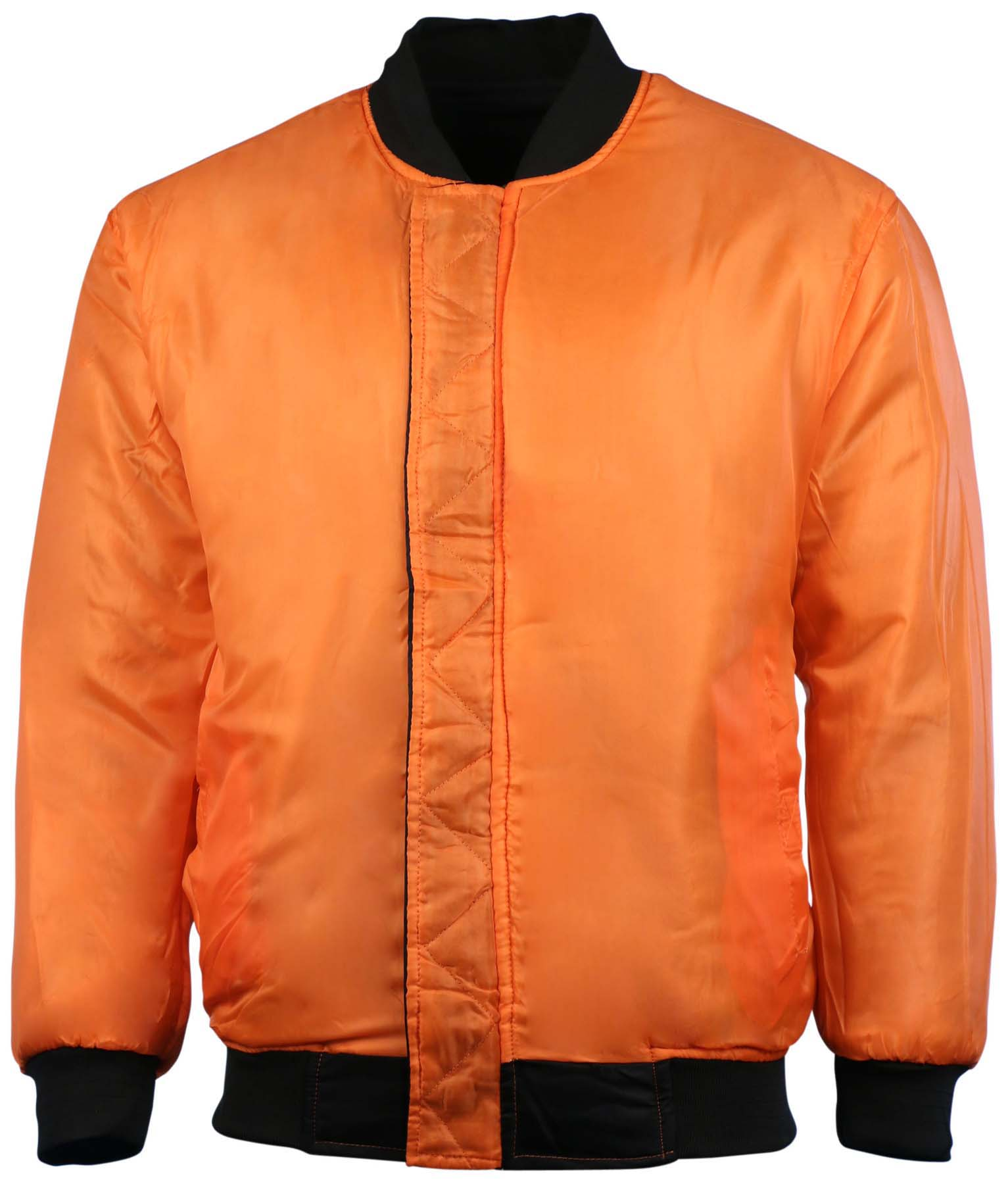 Montana Men's Lightweight Reversible Pilot Flight Bomber Jacket ...