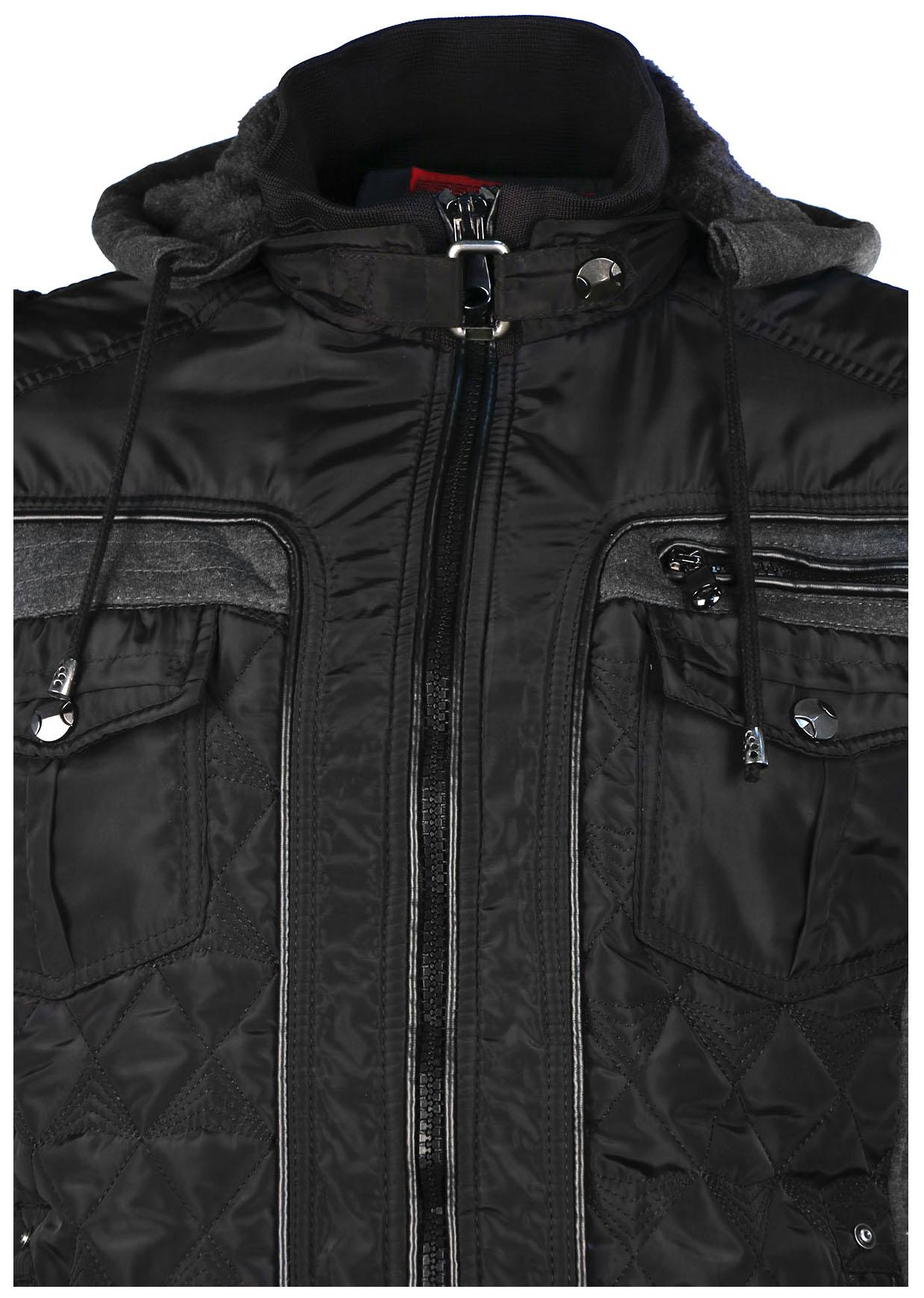 bdb2732625762f Maximos Men s Envy Hooded Full Zip Bomber Jacket