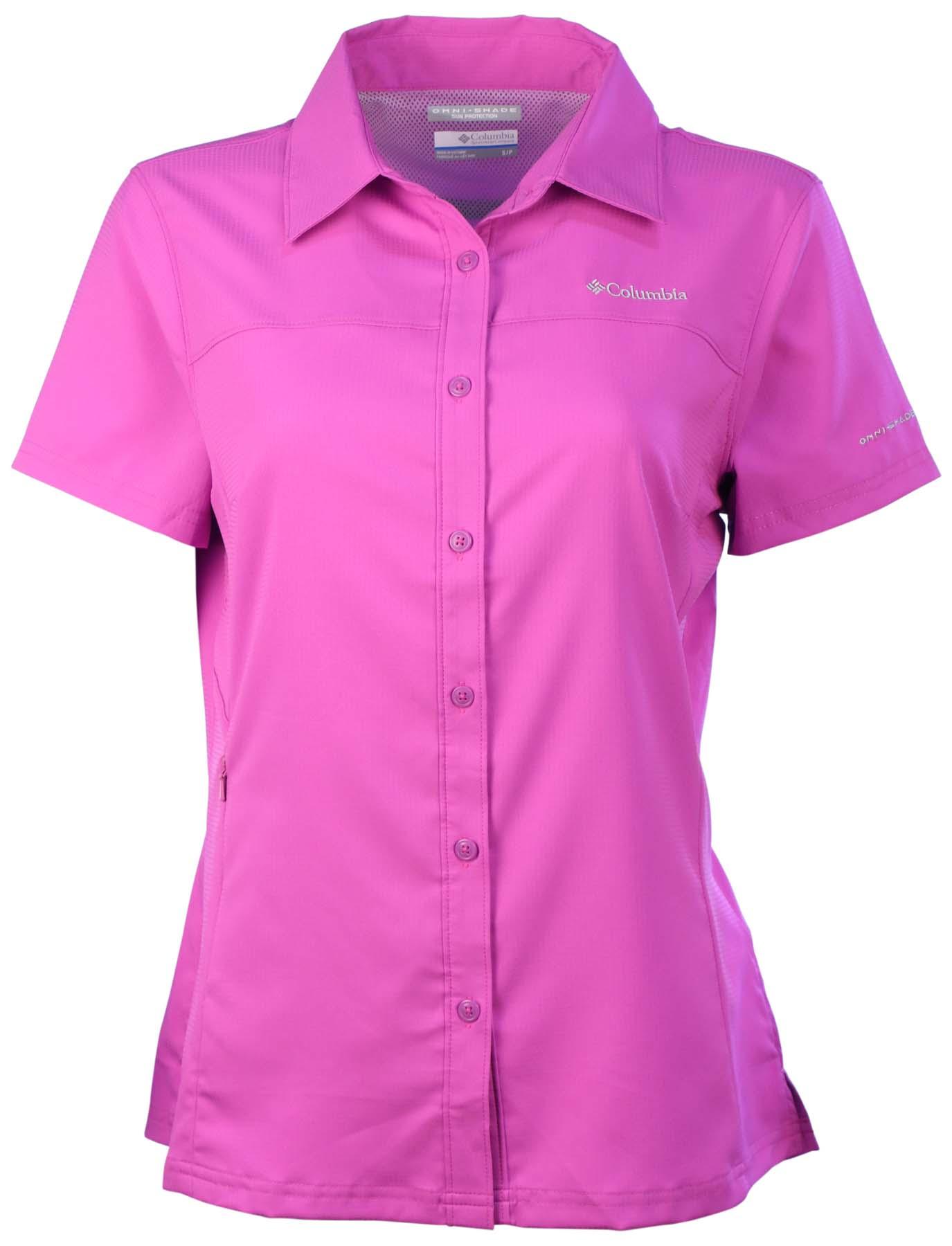 Columbia Women 39 S Meadowgate Short Sleeve Omni Wick Shirt