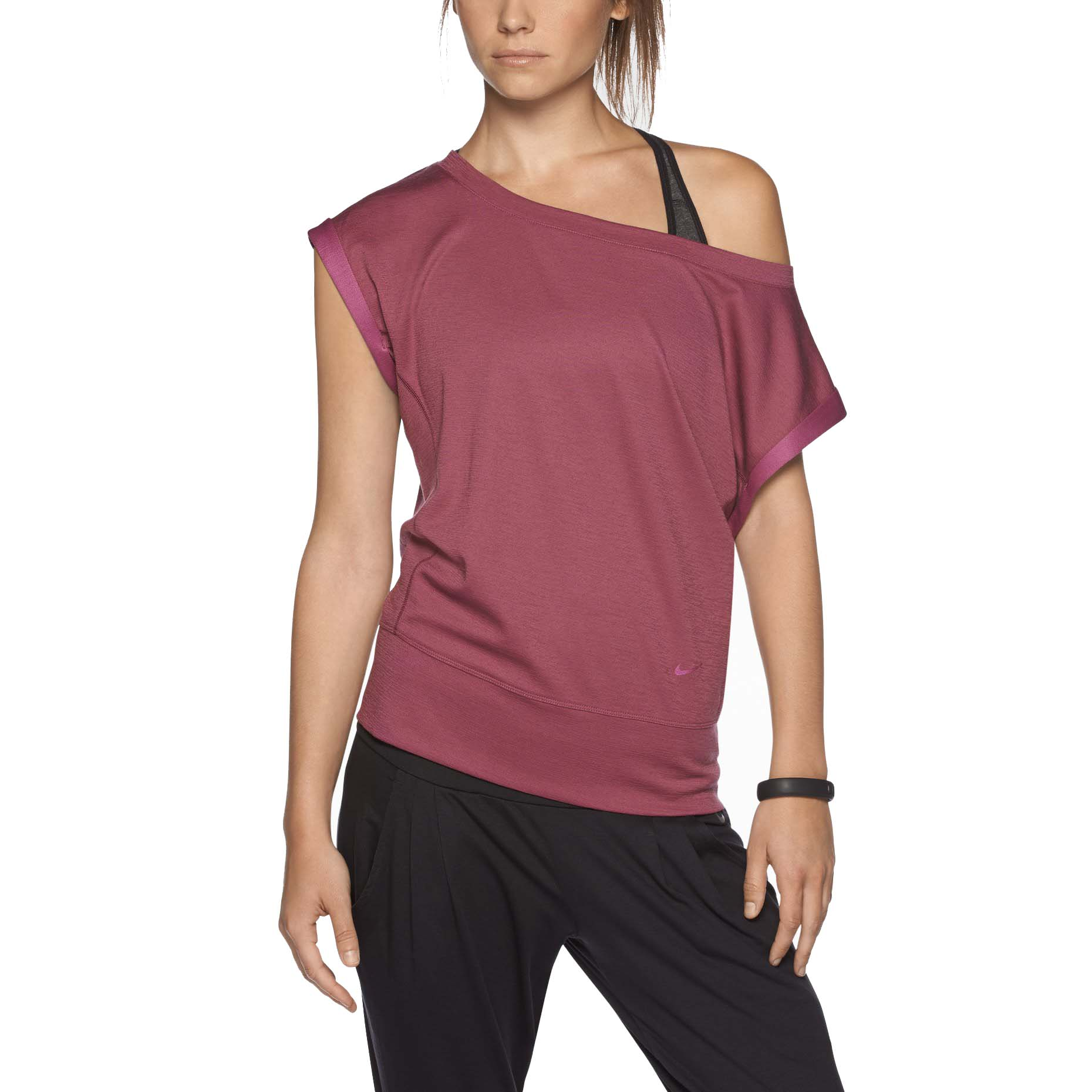 Nike Women's Dri-Fit Epic Training Shirt-Dark Pink   eBay