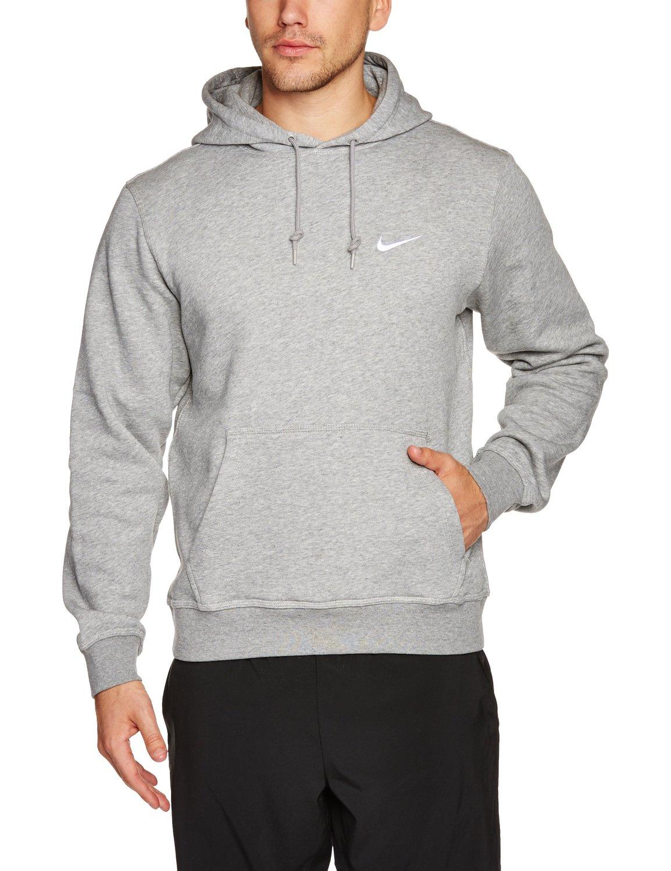 Nike club swoosh pullover hoodie