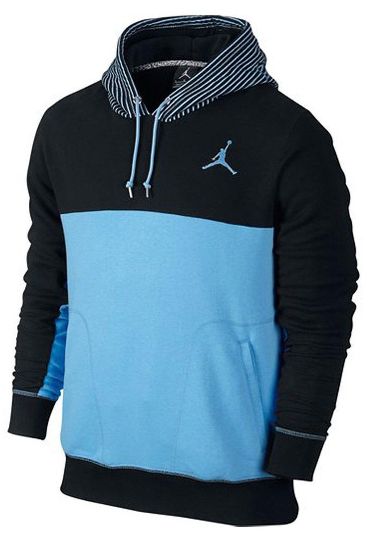 Blue nike hoodie mens