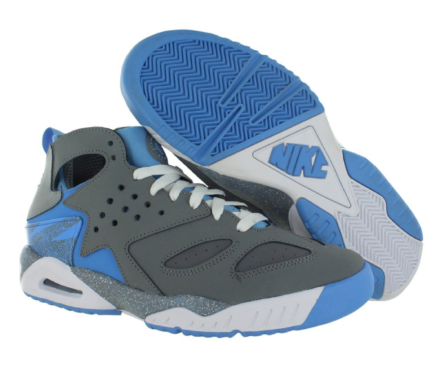 Cool Nike Basketball: Nike Men's Air Tech Huarache Basketball Shoes-Cool Grey