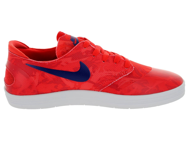 4244a9b77e2d Nike Men s Lunar Oneshot SB Skating Shoe-Lt Crimson Deep Royal-10 ...